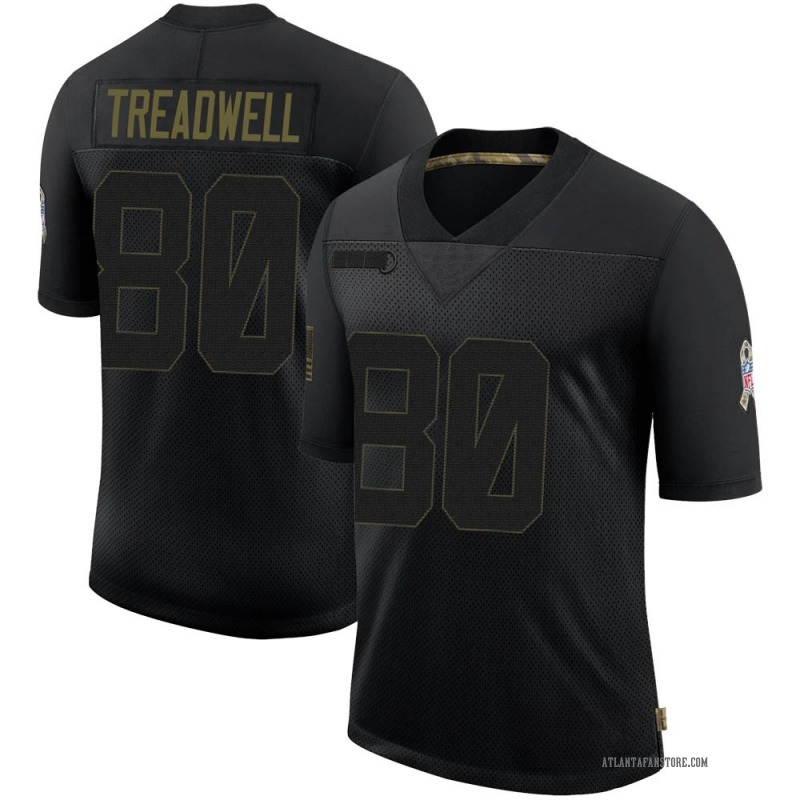 Black Men's Laquon Treadwell Atlanta Falcons Limited 2020 Salute To Service Jersey